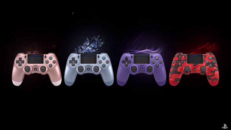 New Dual Shock 4 colors coming out this Fall