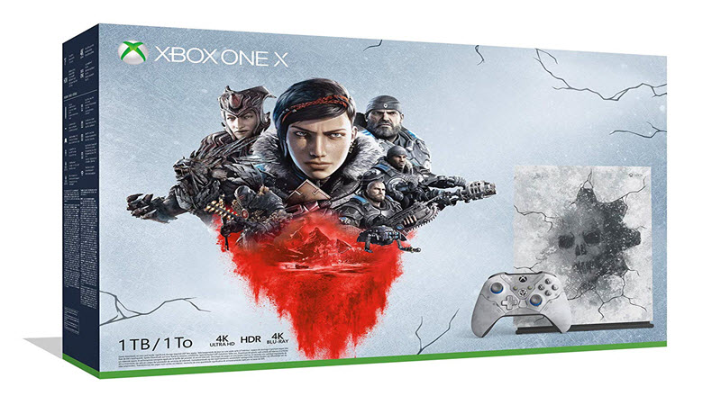 Gears 5 : Xbox One X Console and Controller Up for Pre-Order