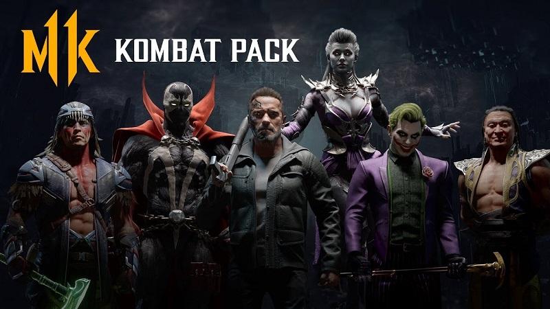 Mortal Kombat 11 : Full Kombat Pack Roster and Release Dates