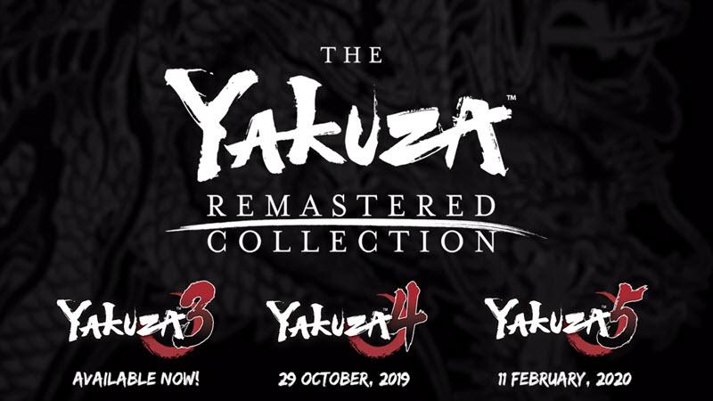 Yakuza Remaster Collection on the way