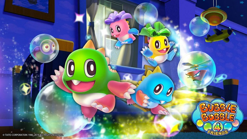 A New Bubble Bobble Title is on the way for the Nintendo Switch