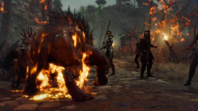 Baldur's Gate 3 : Several Screenshots Leak Ahead of Official Reveal