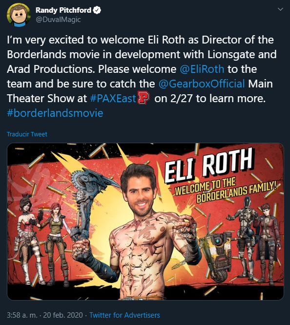 Borderlands Movie