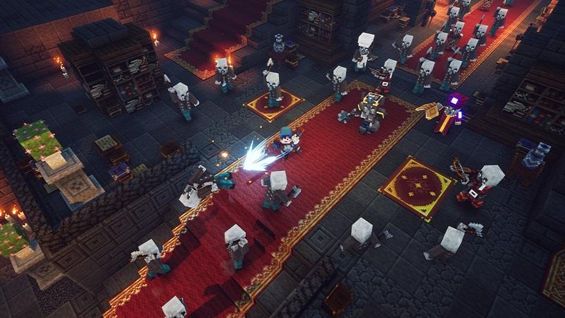 Mojang Provides New Insight into Minecraft Dungeons Environments