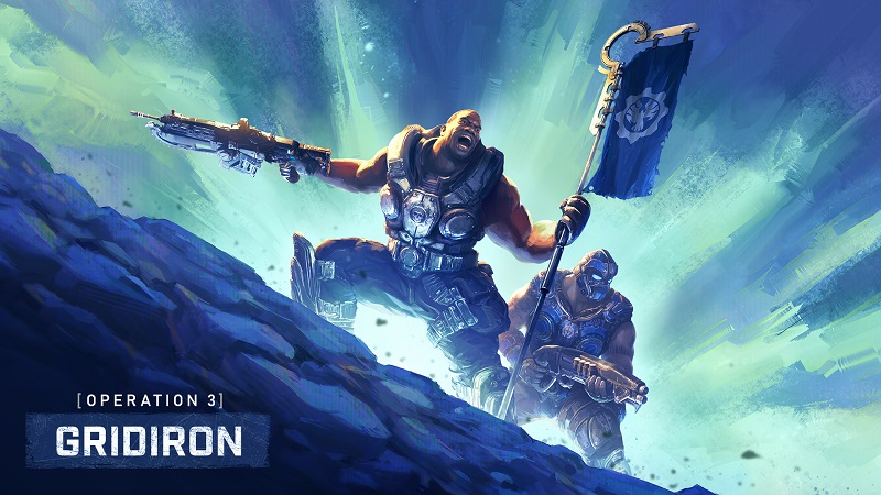 "Gears 5 : The Coalition Teases Operation 3 ""Gridiron"" with Cole Train"