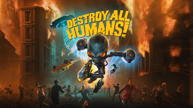 Destroy All Humans : The Invasion Begins in July