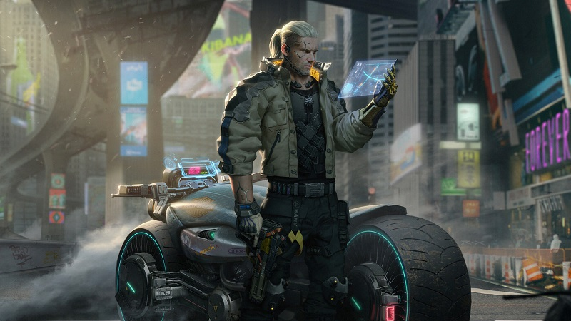 This Witcher and Cyberpunk 2077 Crossover Fanart is Incredible