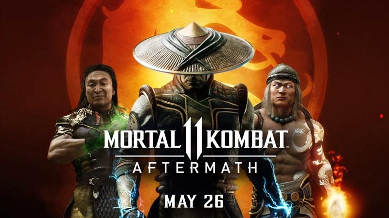 Mortal Kombat 11 : Aftermath Details and Trailer