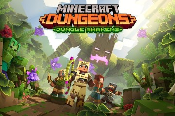 Minecraft Dungeons : The Jungle Awakens Expansion Launches in July