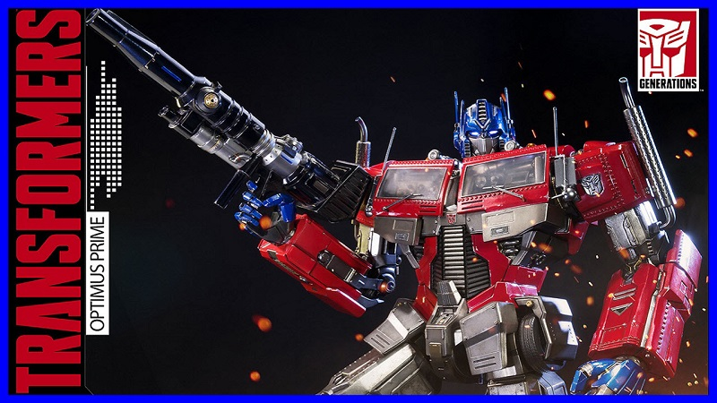 Unboxing : Optimus Prime Exclusive Transformers Statue from Prime 1 Studio