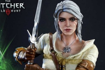 Unboxing : The Witcher 3 Ciri Statue from Prime 1 Studio