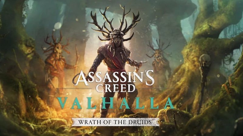 Assassin's Creed Valhalla : Wrath of the Druids Expansion Delayed to May
