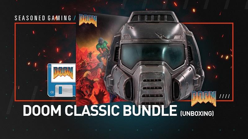 Unboxing : Doom Classic Helmet Bundle