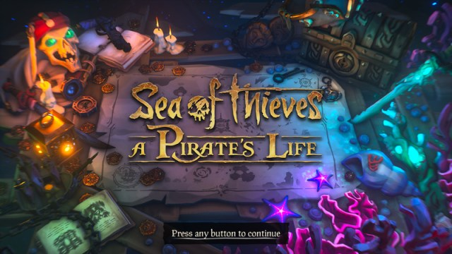 Sea of Thieves Title Page