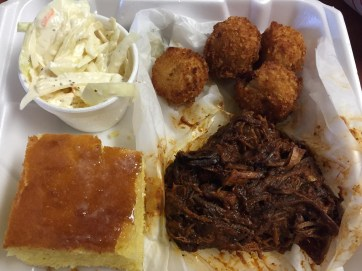 Okie Beef and Burnt Ends in Okie sauce