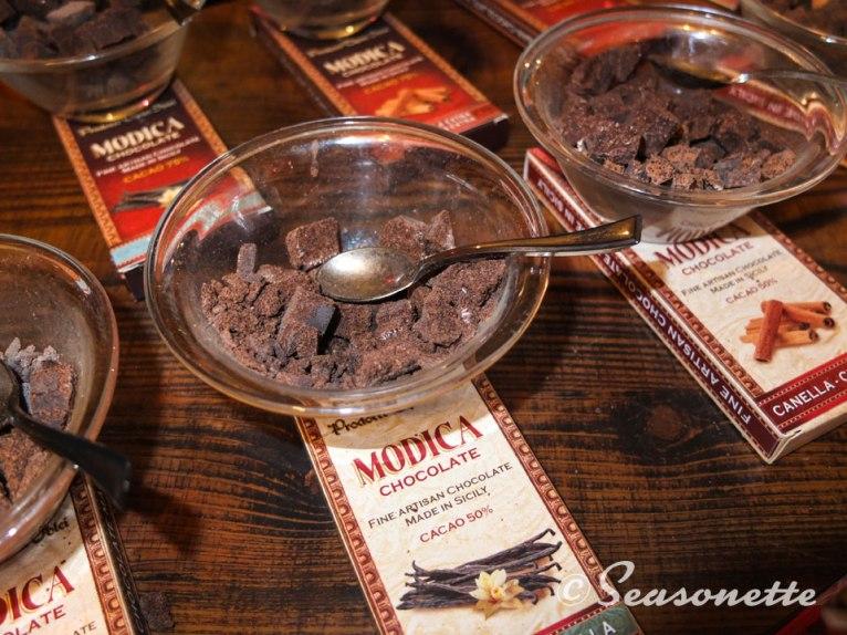 Die berühmte Azteken-Schokolade von Modica