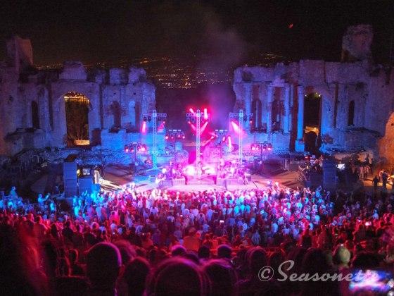 Simple Minds im Teatro Greco Taormina