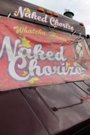 naked chorizo