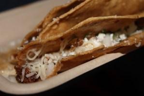 crispy lamb tacos