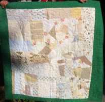 Crazy quilt back