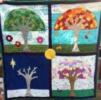 My version of a Seasons quilt