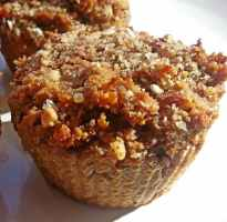 Recipe: Sweet potato muffins (wheat-free, gluten-free, whole grain, sugar-free, dairy-free)