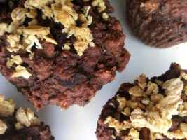 Recipe: Phyto-licious Chocolate Muffins (whole grain, vegan option, low fat)