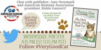 Twitter Launch Party for New Cat Book