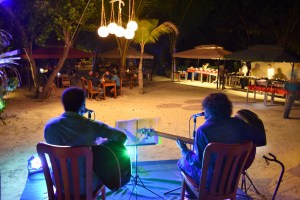 """BBQ night and live music with """"Blackend White"""""""