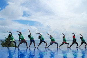 Yoga retreat in Thulusdhoo
