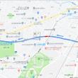 2019.8.15 新しい仙台元寺小路福室線の五輪工区を走ってみました(旧国立病院付近から榴ヶ岡公園へ)