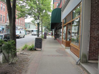 picture of Main St in Rockland Maine