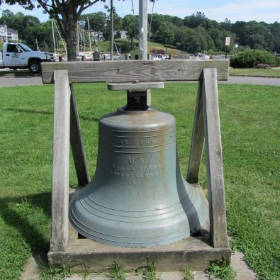 Big Bell in Rockport park.