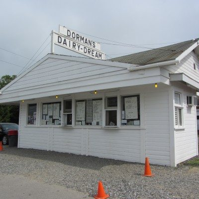 Small white building is where this dairy joy is located in Thomaston.