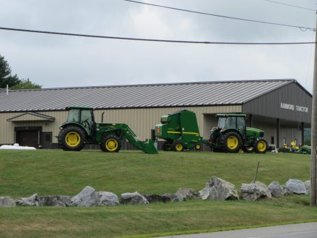 Hammond Tractor, your local John Deere dealer on Route 17 in Union, Maine