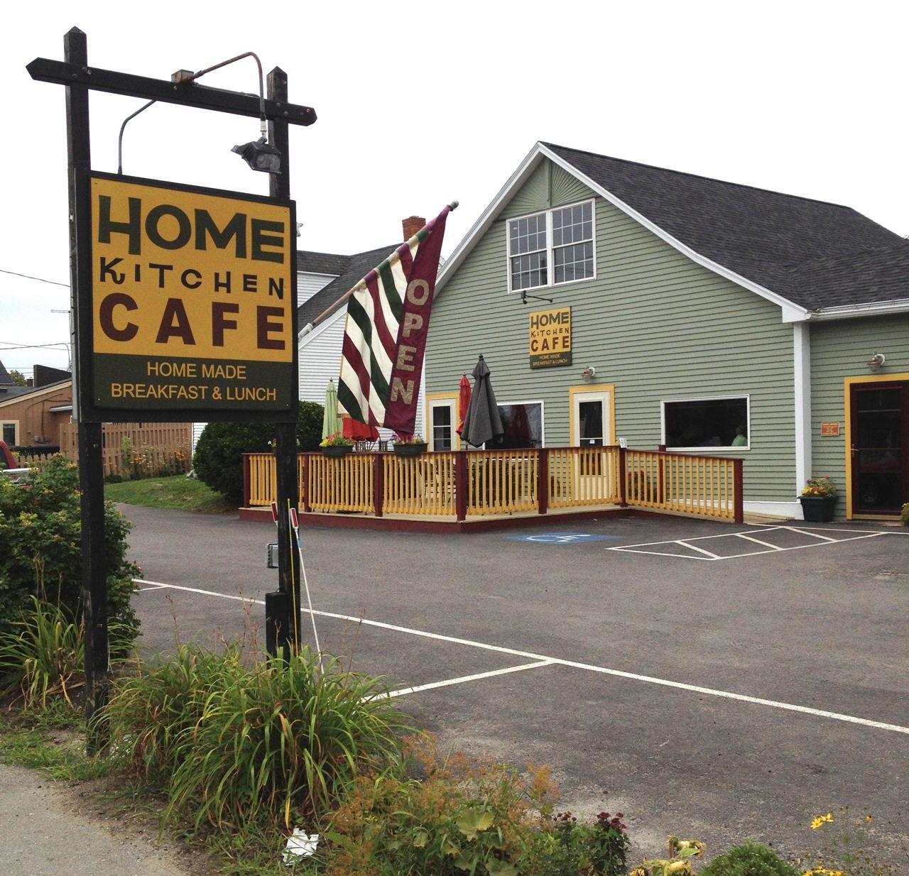 Home Kitchen Cafe Rockland Me. Brick Oven Pizza Is One Of The ...