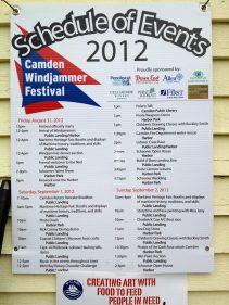 Camden Windjammer Festival 2012