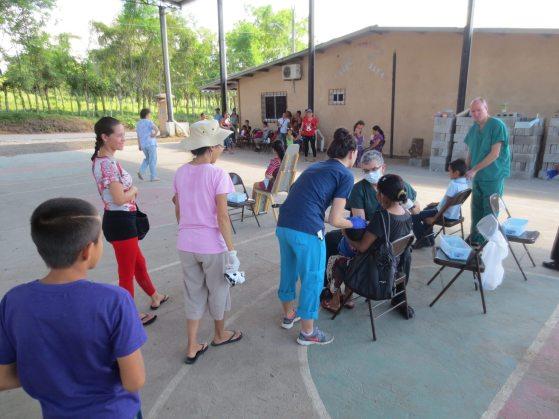 Dental Crew at work on Maranatha Christmas Mission Trip (2015)