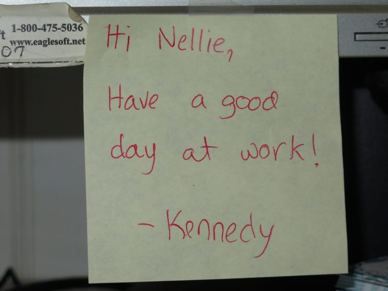 Nellie's Note