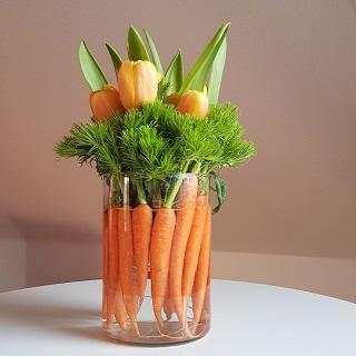 Carrot centerpiece