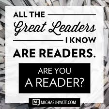 Leaders are Readers Hyatt