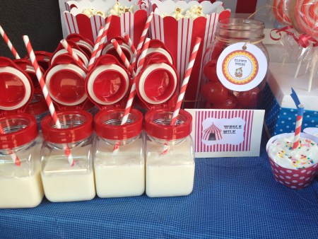 Circus Theme Sweet Table
