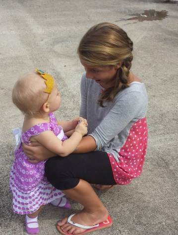 halia with little one