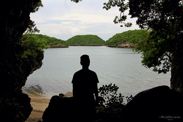 silhouette Cuenco Cave hundred islands pangasinan