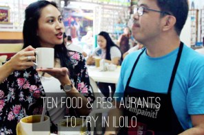FOOD AND RESTAURANTS TO TRY IN ILOILO