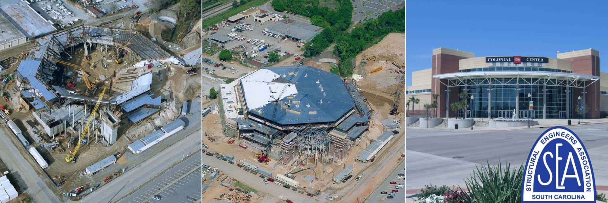 SEASC helped build the Colonial Life Arena here in Columbia SC