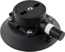 114mm SeaSucker Black Vacuum Mount