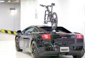 Lamborghini - Rear View with Talon Bike Rack