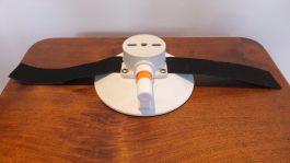 152 mm Vacuum Mount with Velcro