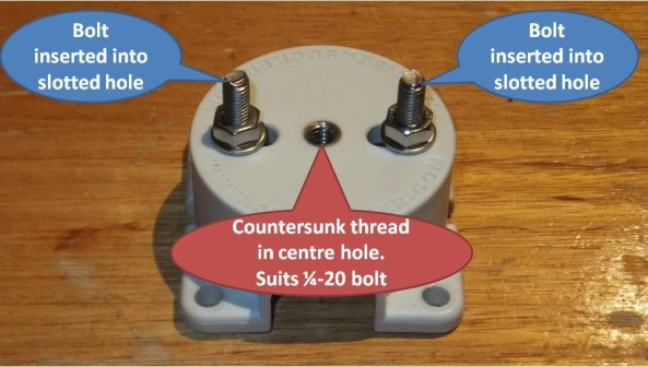 SeaSucker Vacuum Mount Housing